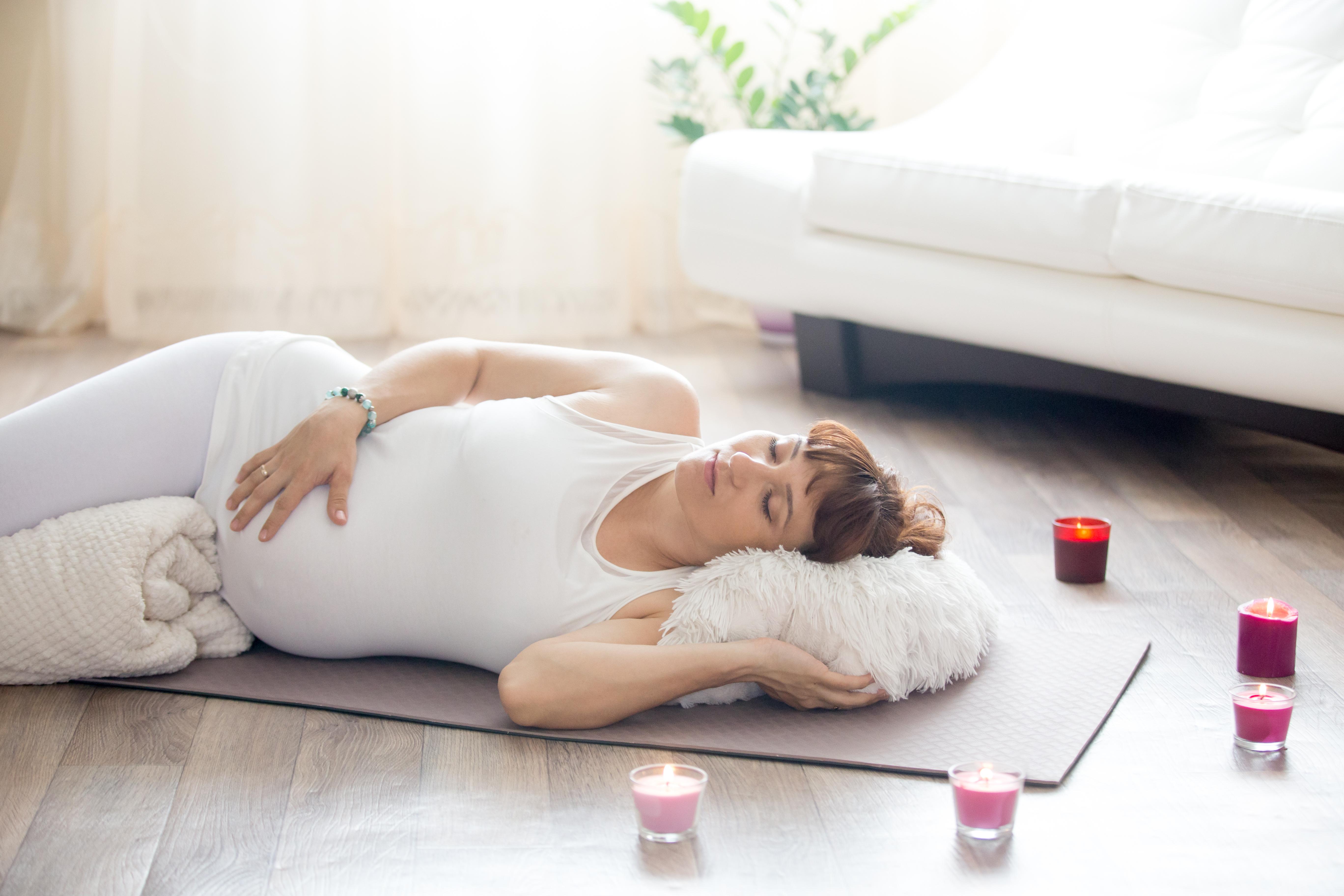 prenatal yoga, relaxation, meditation, pregnancy