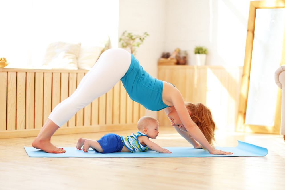 Postnatal Yoga, Mommy and Me Yoga