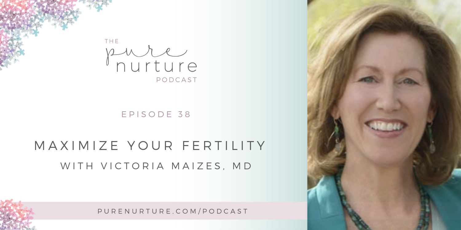 038: Maximize Your Fertility With Victoria Maizes, MD